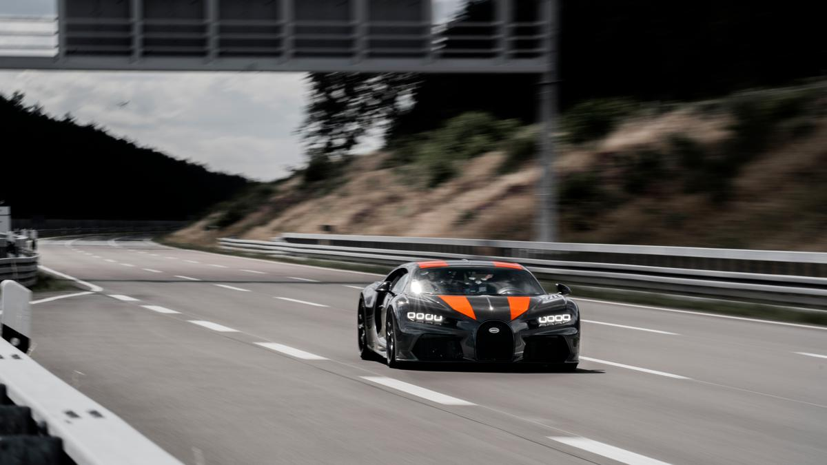 Bugatti Chiron breaks 300 mph barrier for production cars