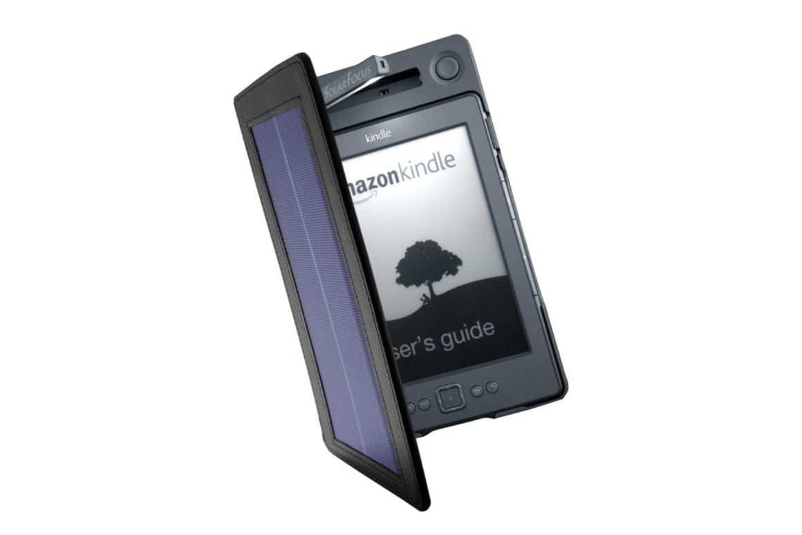 The SolarKindle Kindle case can provide you with three months of reading time, and over 50 hours of reading lamp use on a single charge