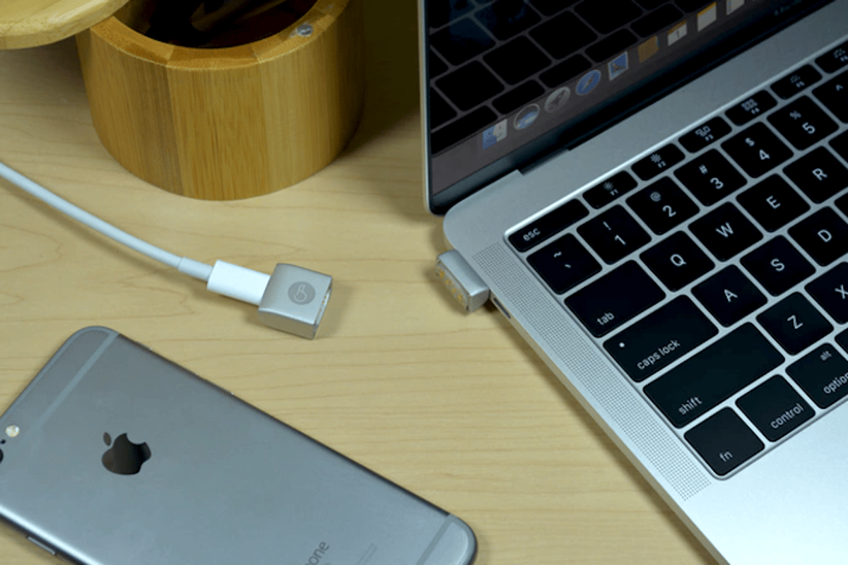 Branch has unveiled the MagNeo, a magnetic breakaway USB-C adapter for the Macbook and other devices