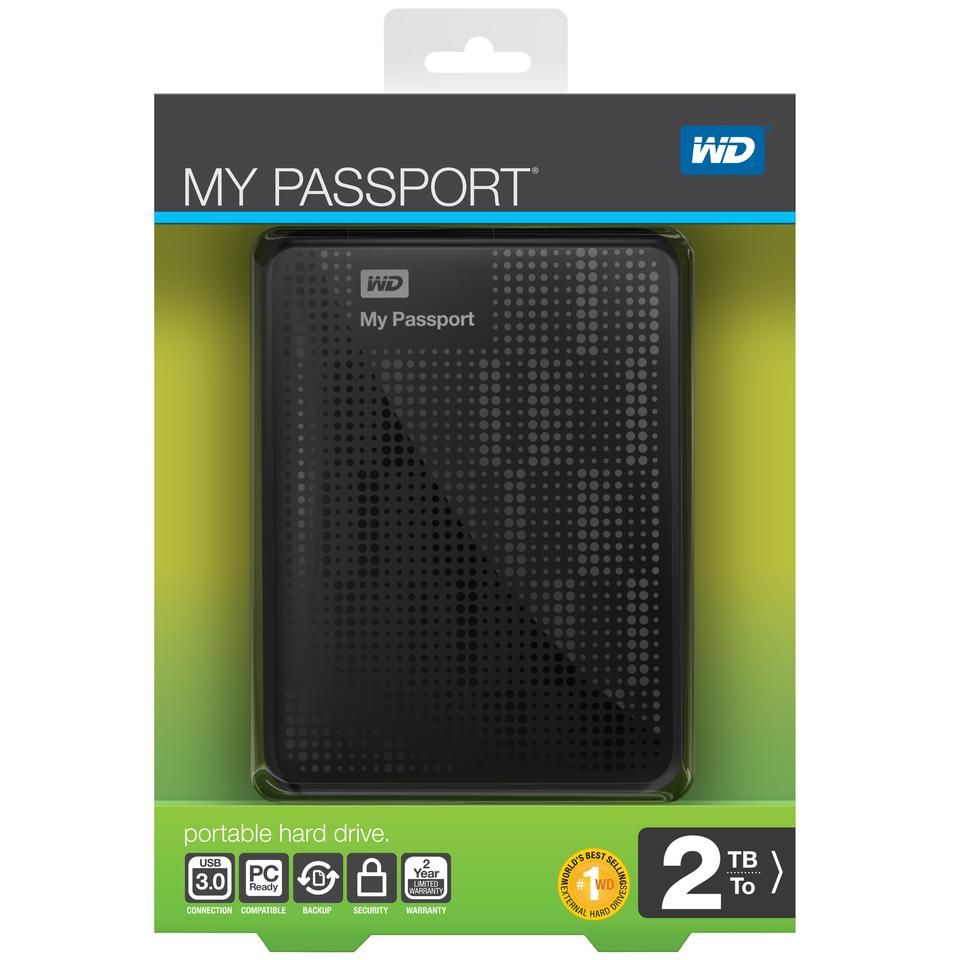What to look for in the shops when hunting for Western Digital's My Passport