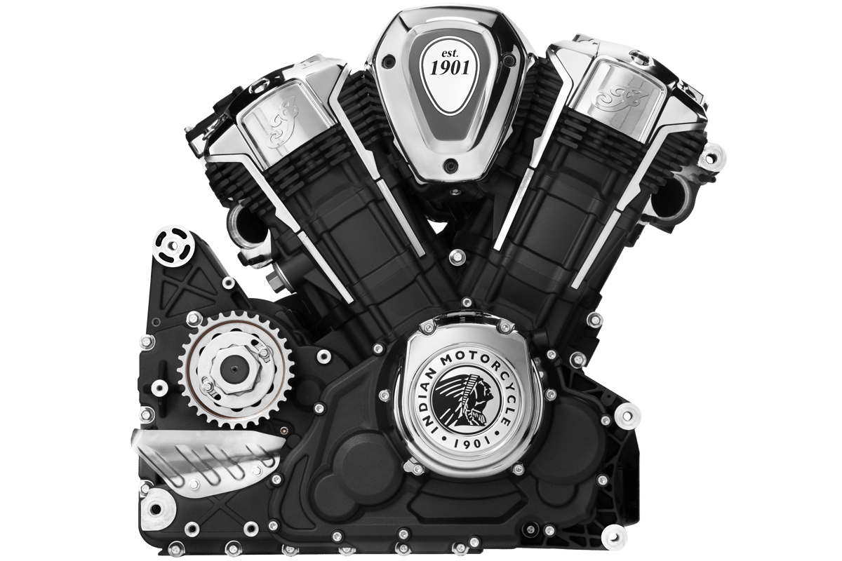 Indian's Powerplus engine is the highest performing production American V-twin ever