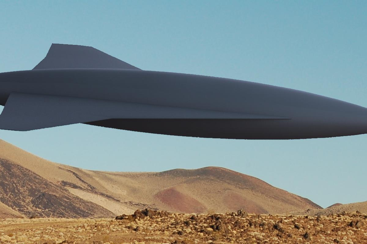 The GoJett supersonic UAV is promised to go faster, using less fuel, than other aircraft in its weight class (Image: Ryan Starkey/University of Colorado)