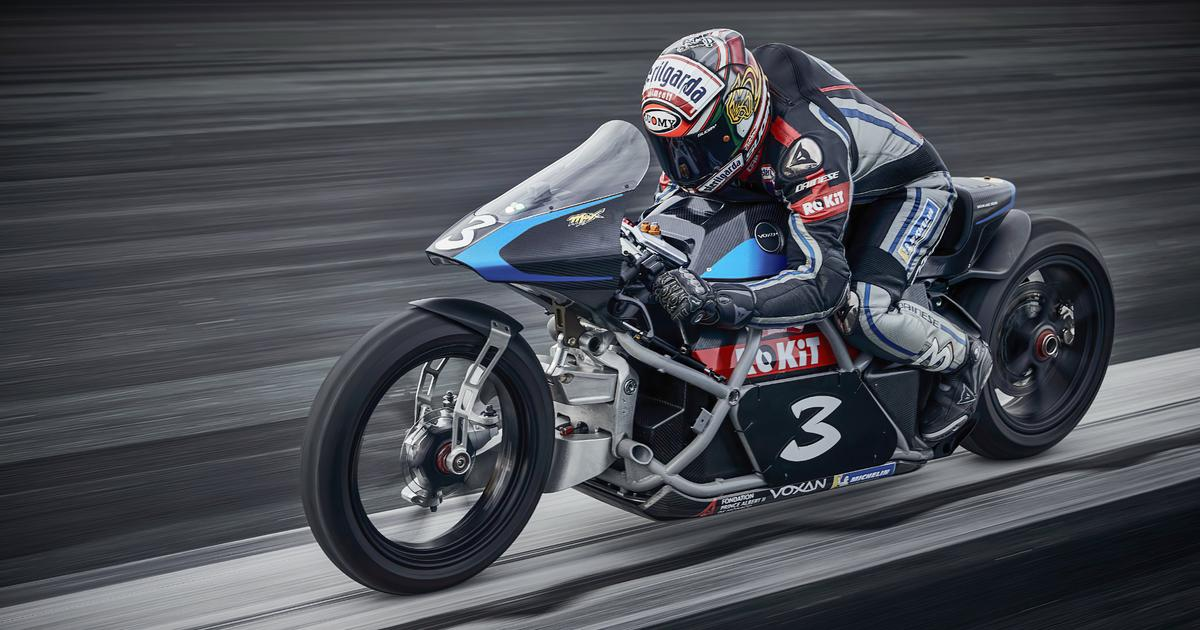 Voxan claims 11 records with the world's fastest electric motorcycle