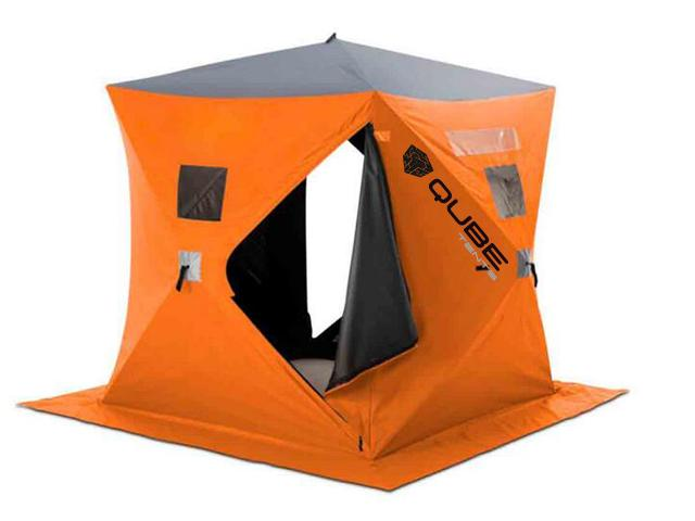 Following M2C's Pod tents, the Qube brings a new look to camping