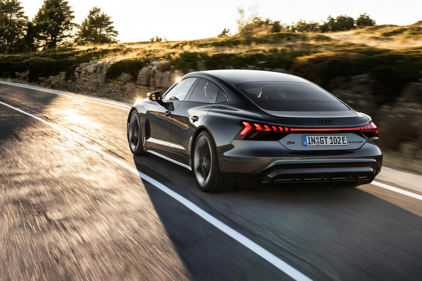 The e-tron GT is the latest step towards an electric vehicle future for Audi