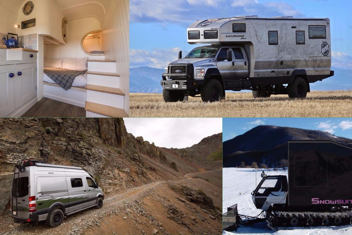 The smartest, slickest and swankiest camper vans and large