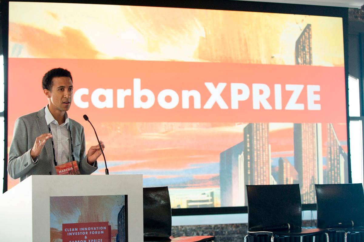 XPrize's senior director of energy and resources, Dr Marcius Extavour