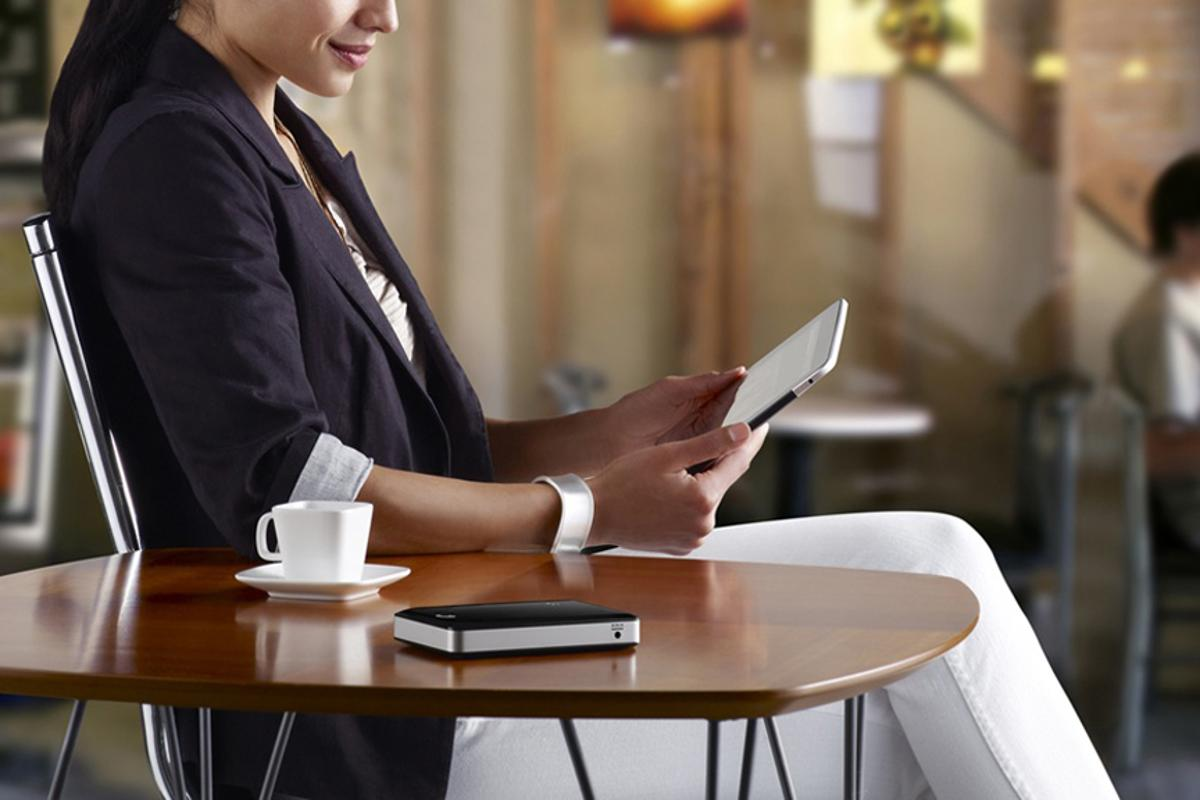 Seagate's GoFlex portable HDD can stream media wirelessly to mobile devices such as Apple's iPad