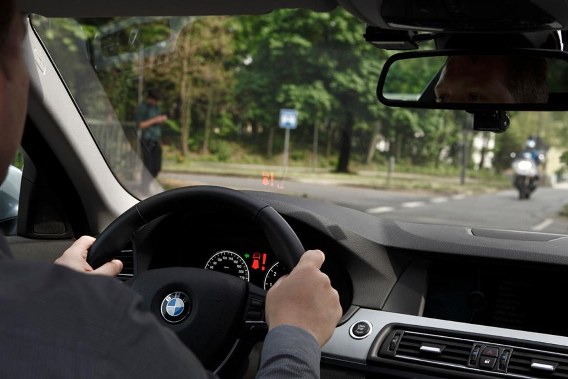 The left turn assistant is designed to reduce the number of accidents resulting from vehicles turning left at intersections