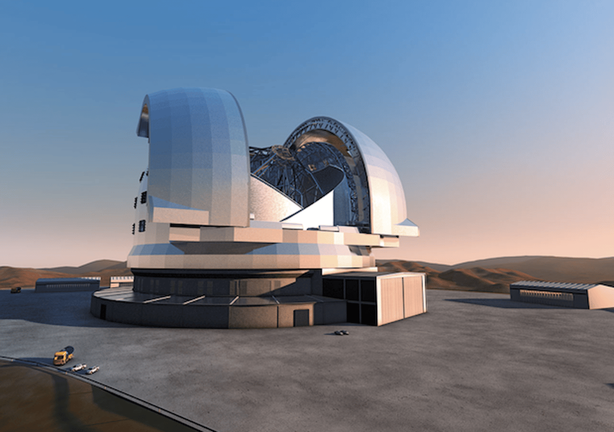Upon completion, the E-ELT is expected to be the largest optical telescope in the world