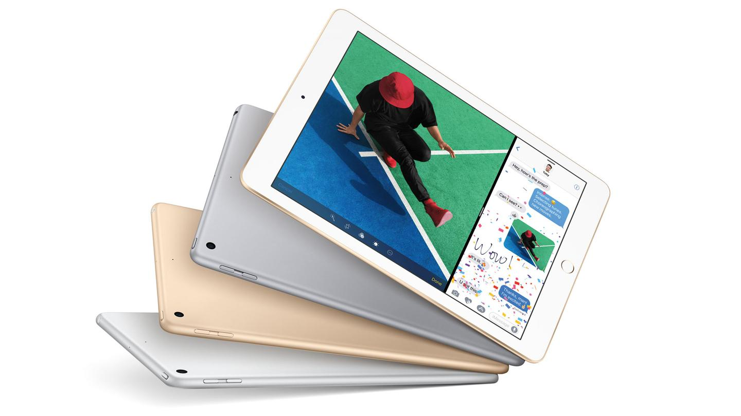 "Apple's updated iPad Air 2, now just called ""iPad"""