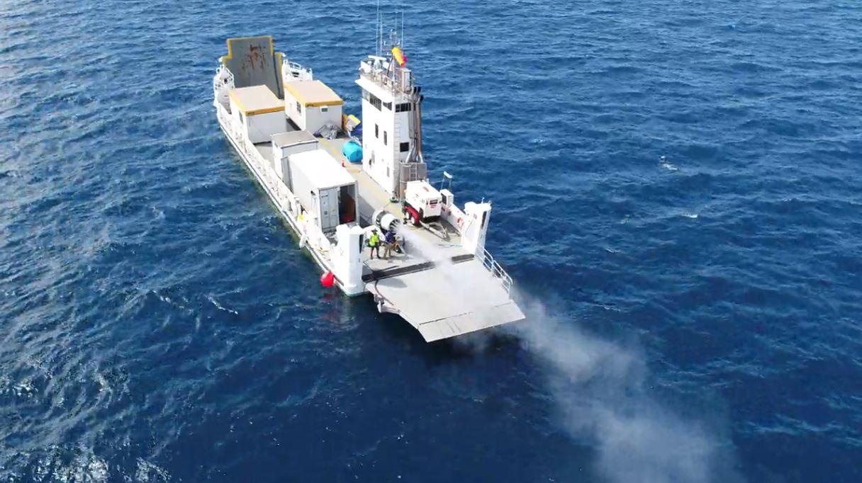 Cloud-seeding technology, which has been proposed as a way to mitigate the effects of climate change, is being tested as a way to protect the Great Barrier Reef