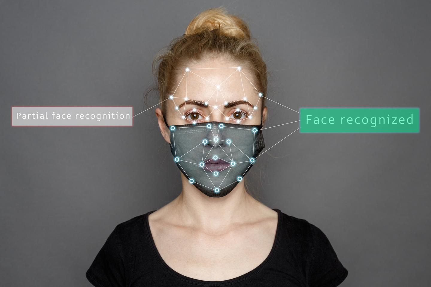 In a new study, the best algorithm tested still failed 5 percent of the time when trying to identify faces covered in masks