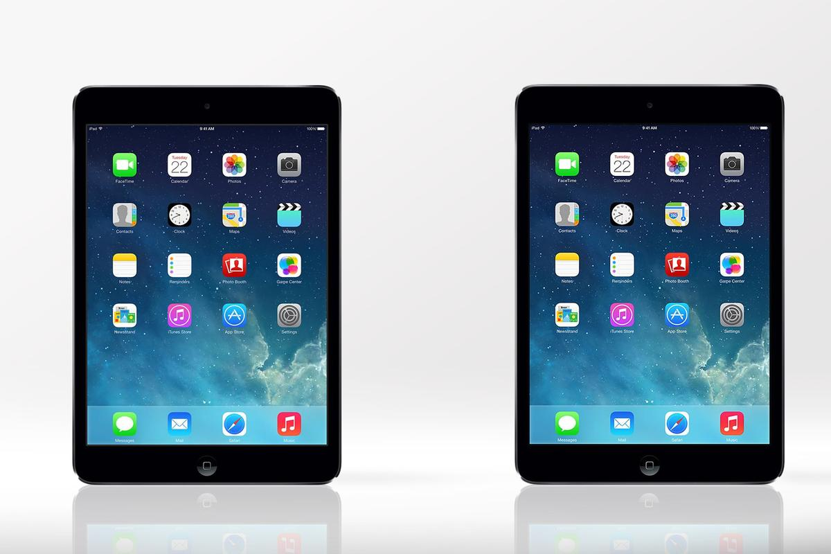 Gizmag compares the features and specs of the new iPad mini with Retina Display (left) and the original (non-Retina) iPad mini