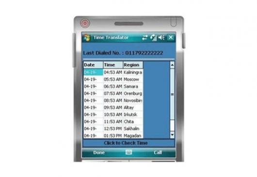 Timetranslator screen shot