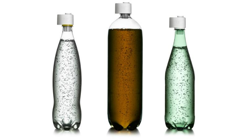 Rebubl is designed to re-carbonate fizzy drinks that have gone flat