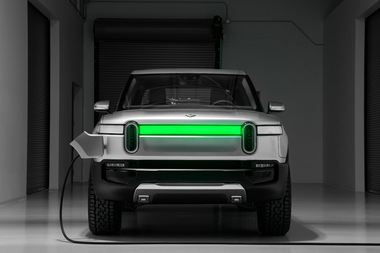 Rivian is building a nationwide network of fast-charging stations that can add as much as 140 miles (225 km) worth of juice in as little as 20 minutes