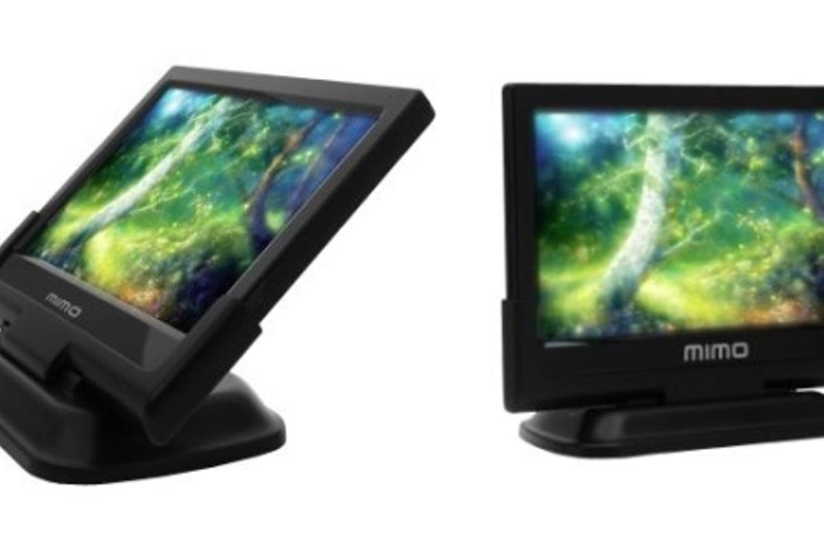 The Mimo Magic Touch is a USB-powered capacitive touchscreen with a 10.1-inch display running at 1024 x 600 resolution