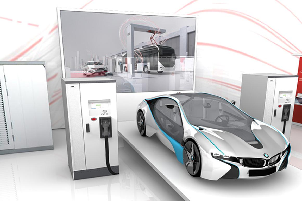 Swiss company ABB has released a DC fast charger capable of recharging an EV nearly three times faster than Tesla's Supercharger... if only there was a car that couldhandle that kind of electron flow