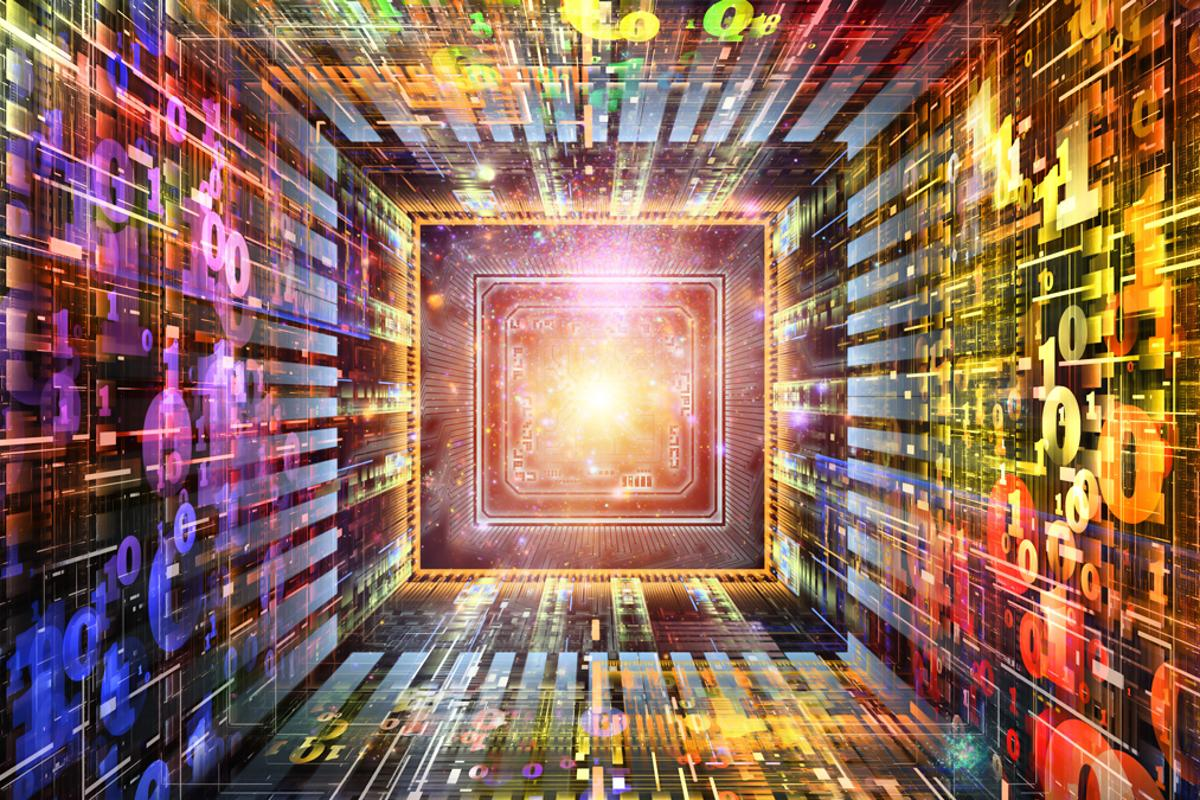 A 110-core CPU chip based on a new architecture has been developed that reduces on-chip traffic more than tenfold (Image: Shutterstock)