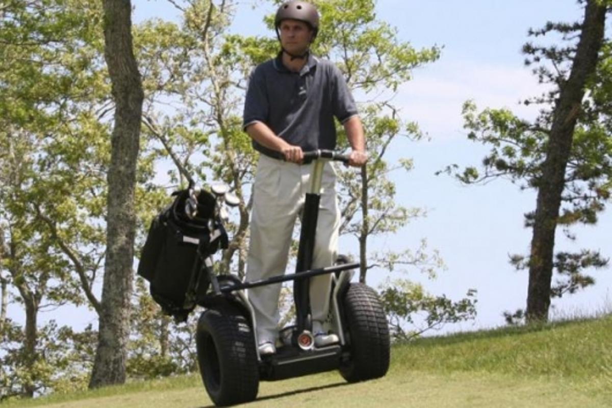 The Segway x2 Golf