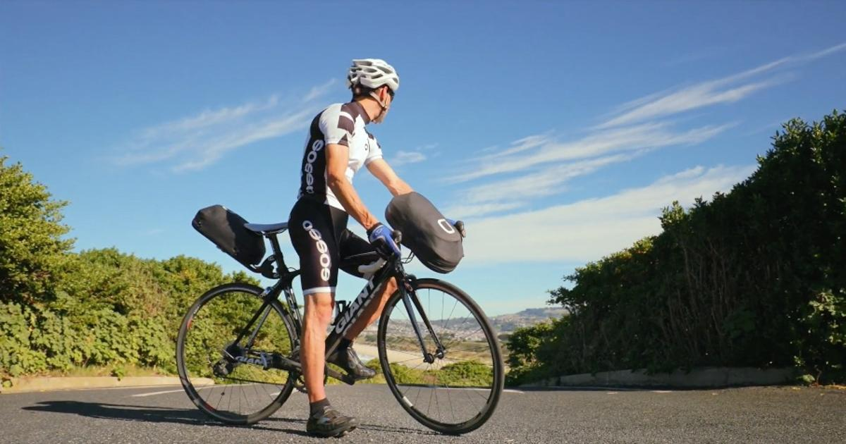 The BikePack system in use