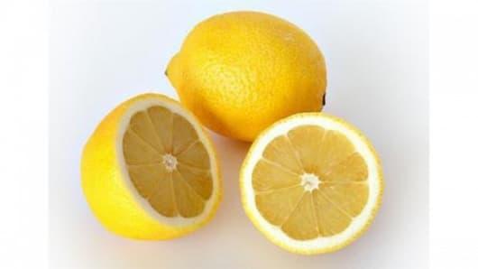 Stress relieving lemons