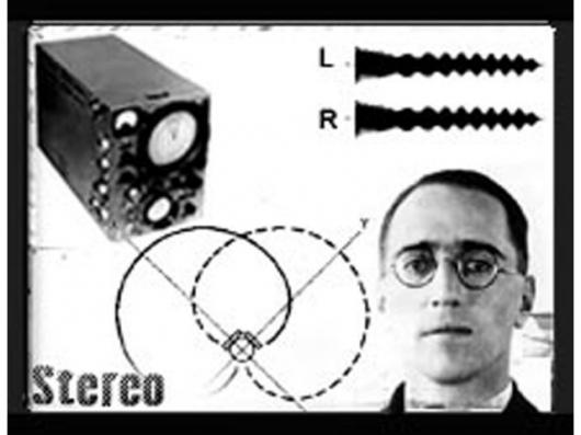 The inventor of stereo, Alan Blumlein. Pic courtesy DJ History.