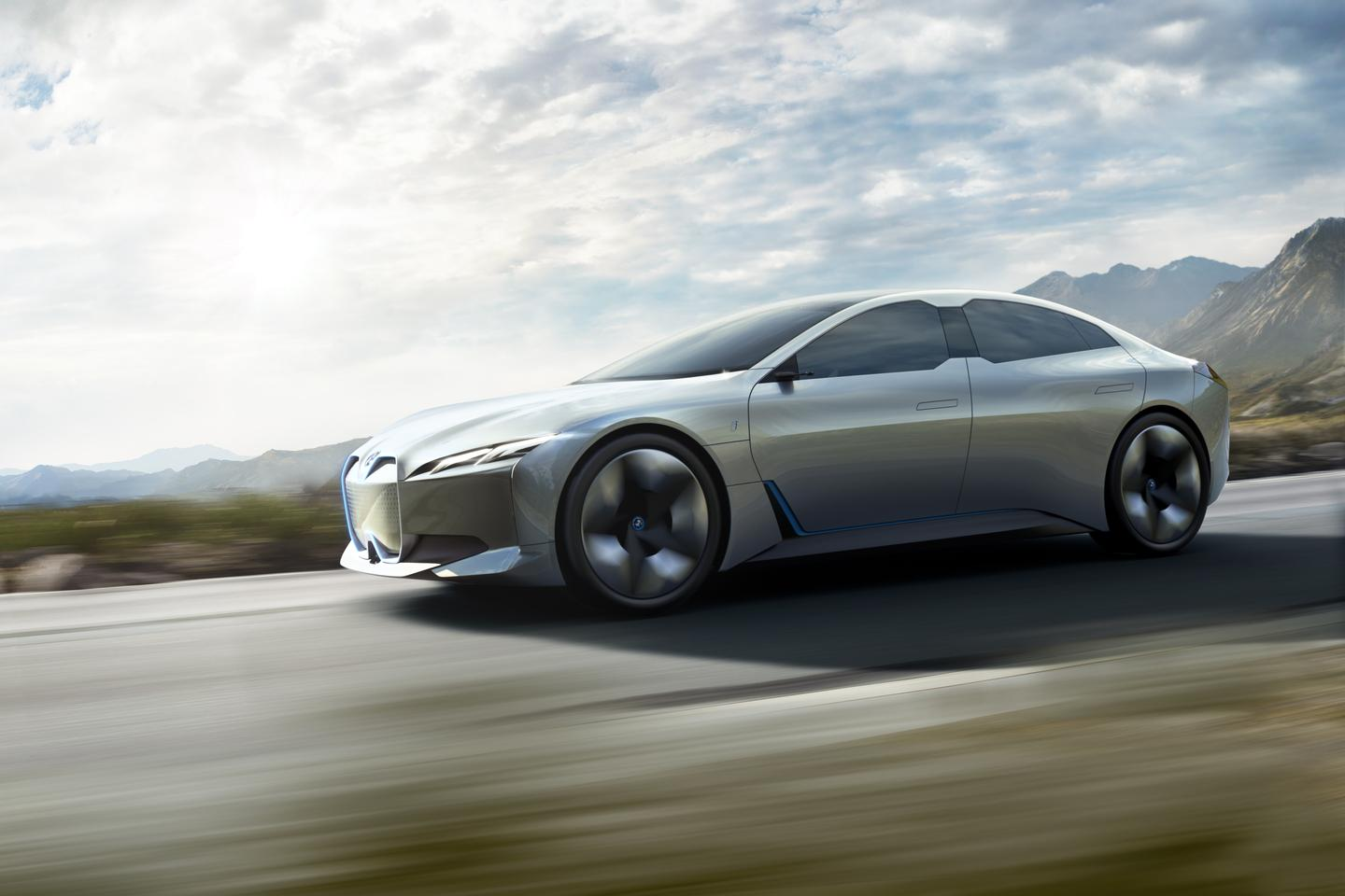 BMW showed the first preview of the i4 two years ago with the i Vision Dynamics