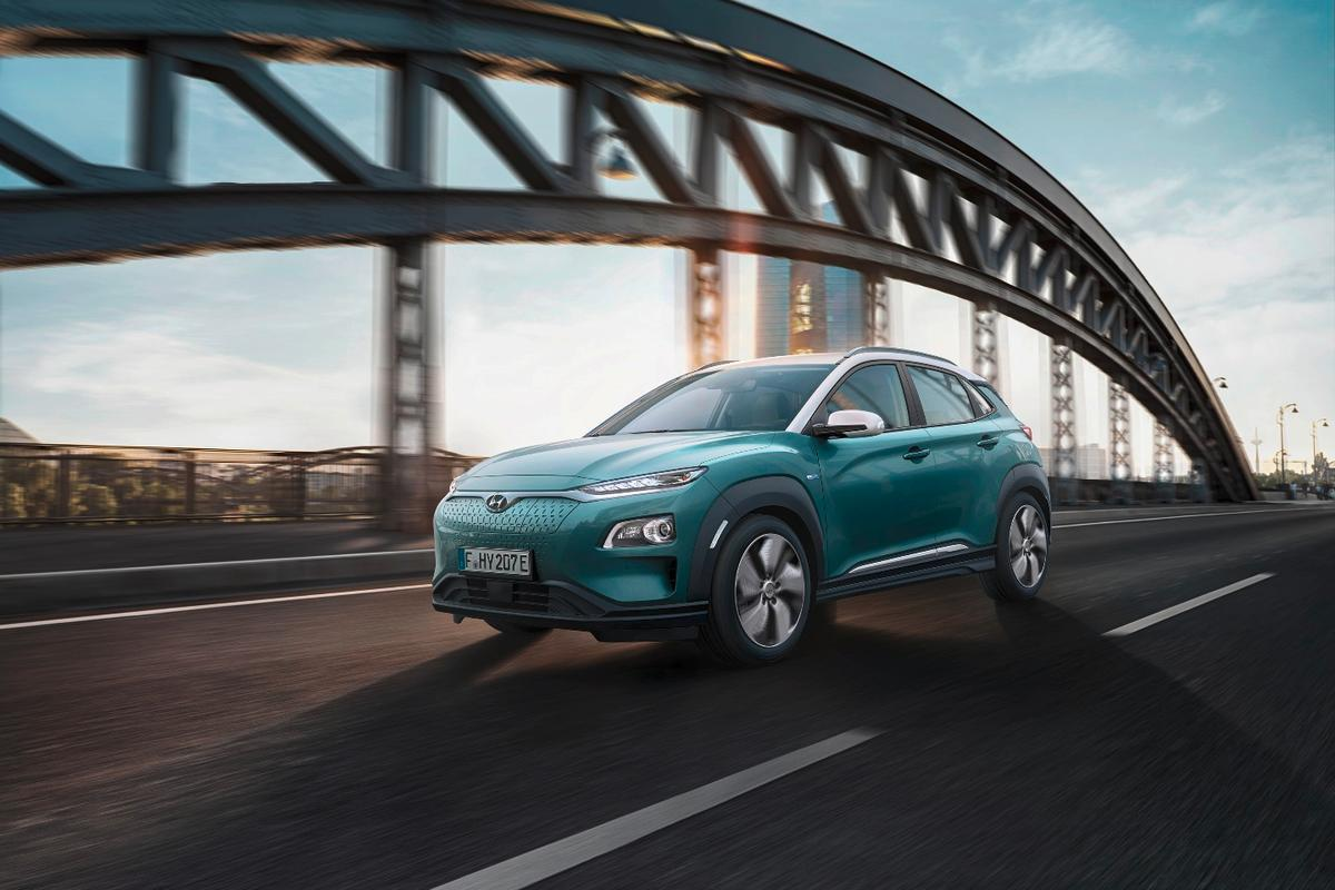 The Kona Electric comes in two powertrain options