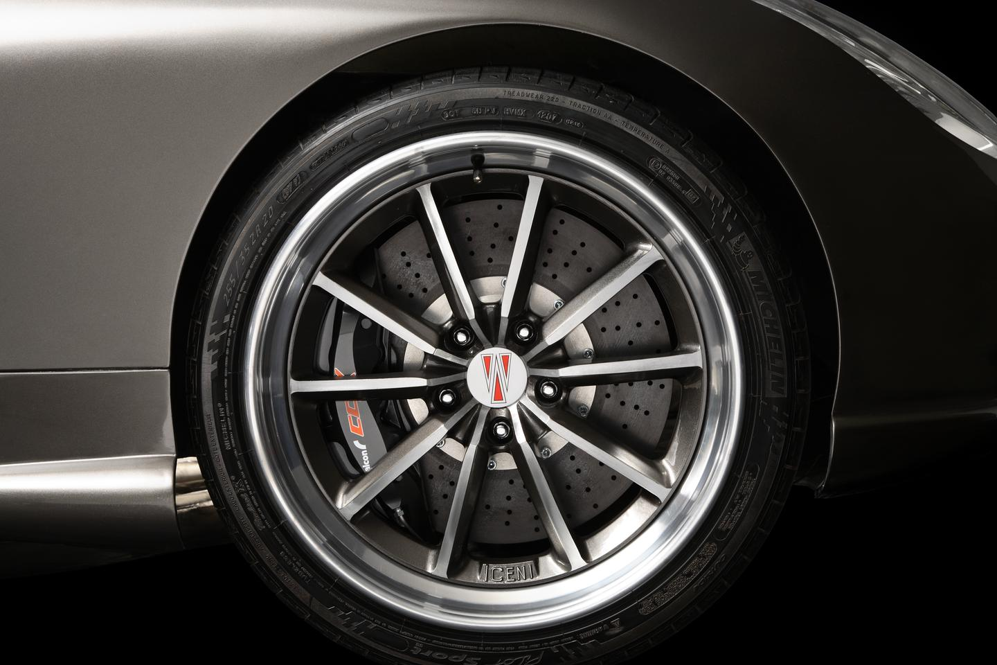The Iceni features 39 bespoke parts, including the wheels