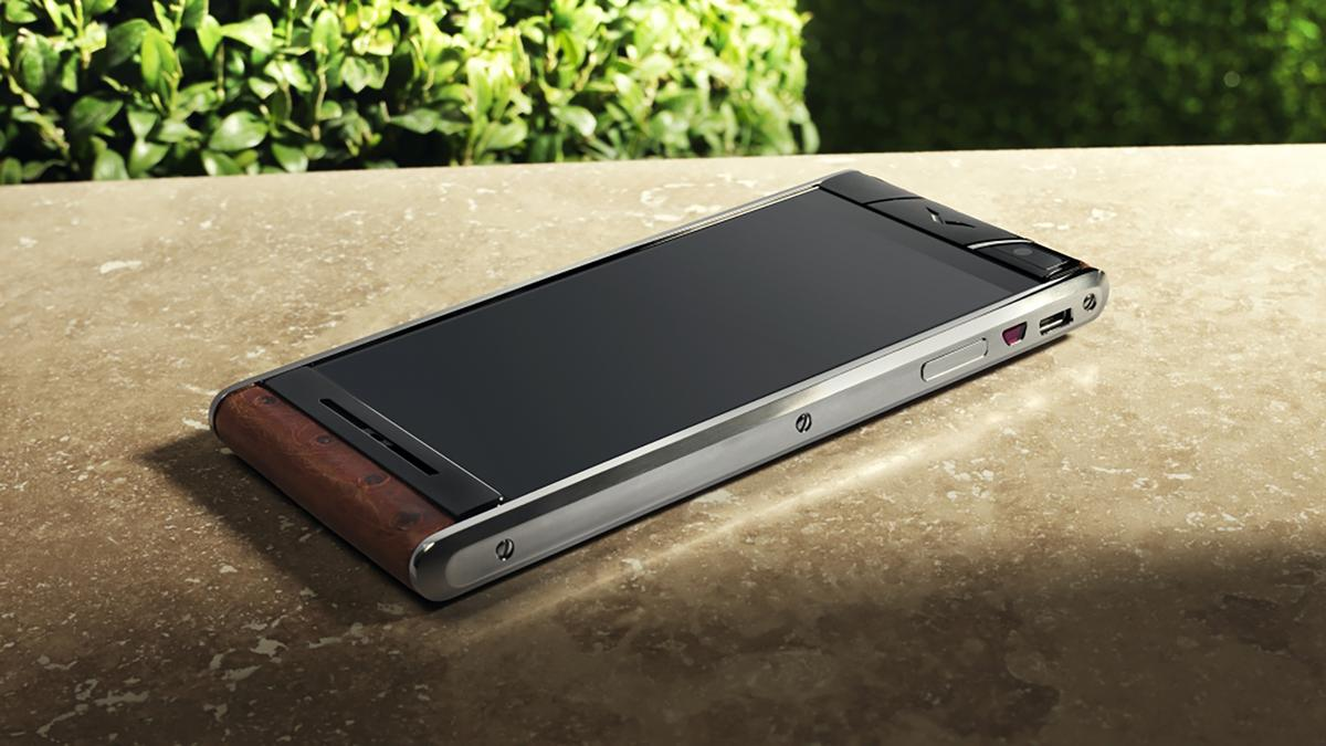 Vertu's latest smartphone is a luxury handset with high-end internals