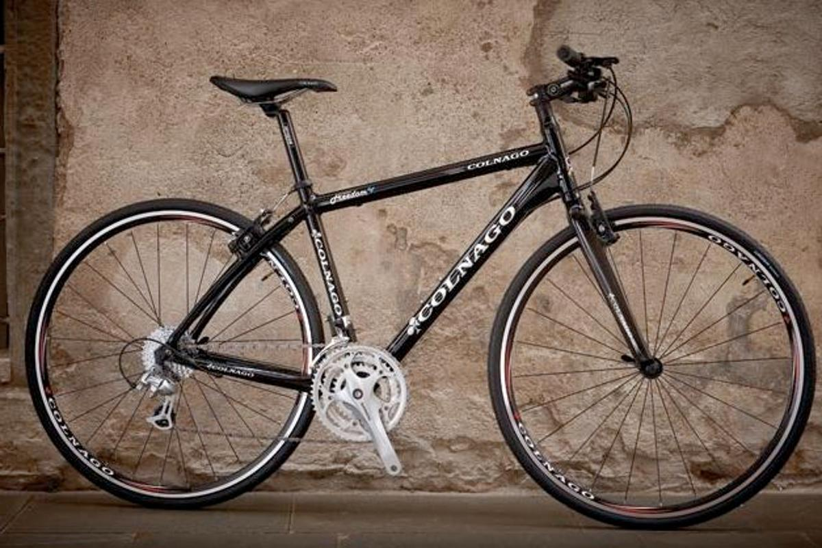 The Colnago Freedom is one of several commuter bikes made by high-end European racing bicycle manufacturers
