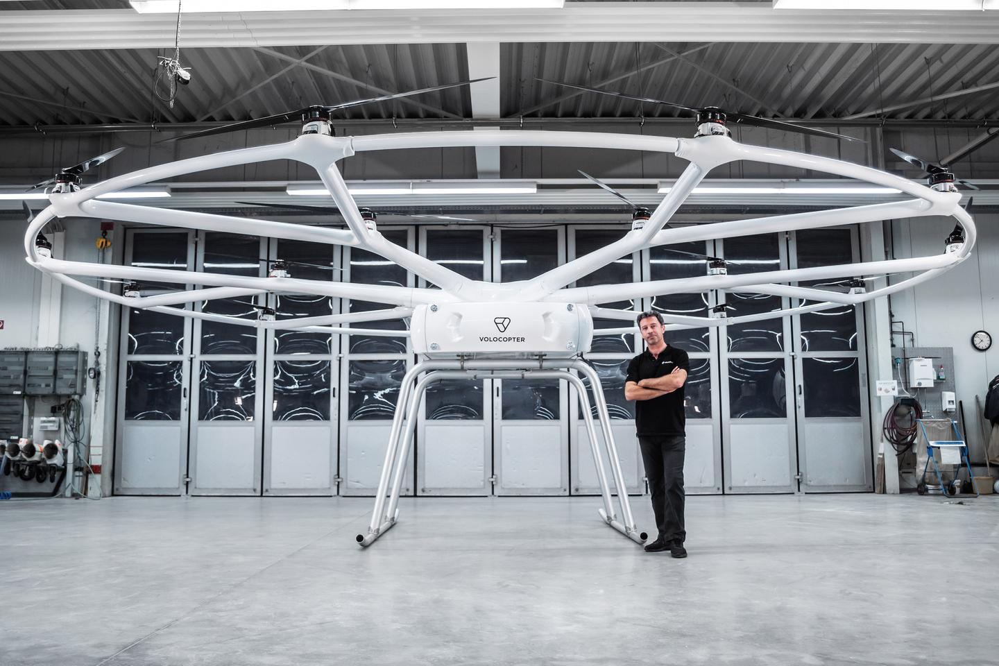 Volocopter has spent years developing aircraft to hoist people up and over congested cities, and now its leveraging its technology to do the same for heavy cargo