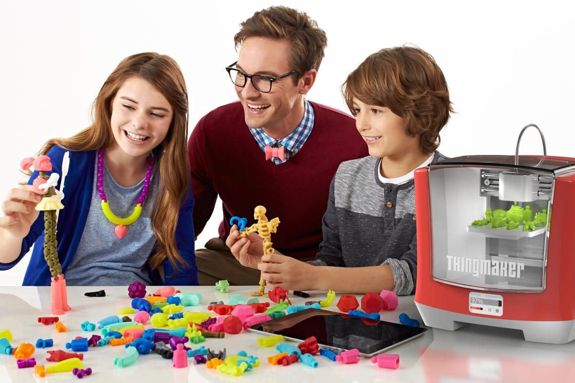 The ThingMaker 3D printer from Mattel is designed to let kids print their own toys
