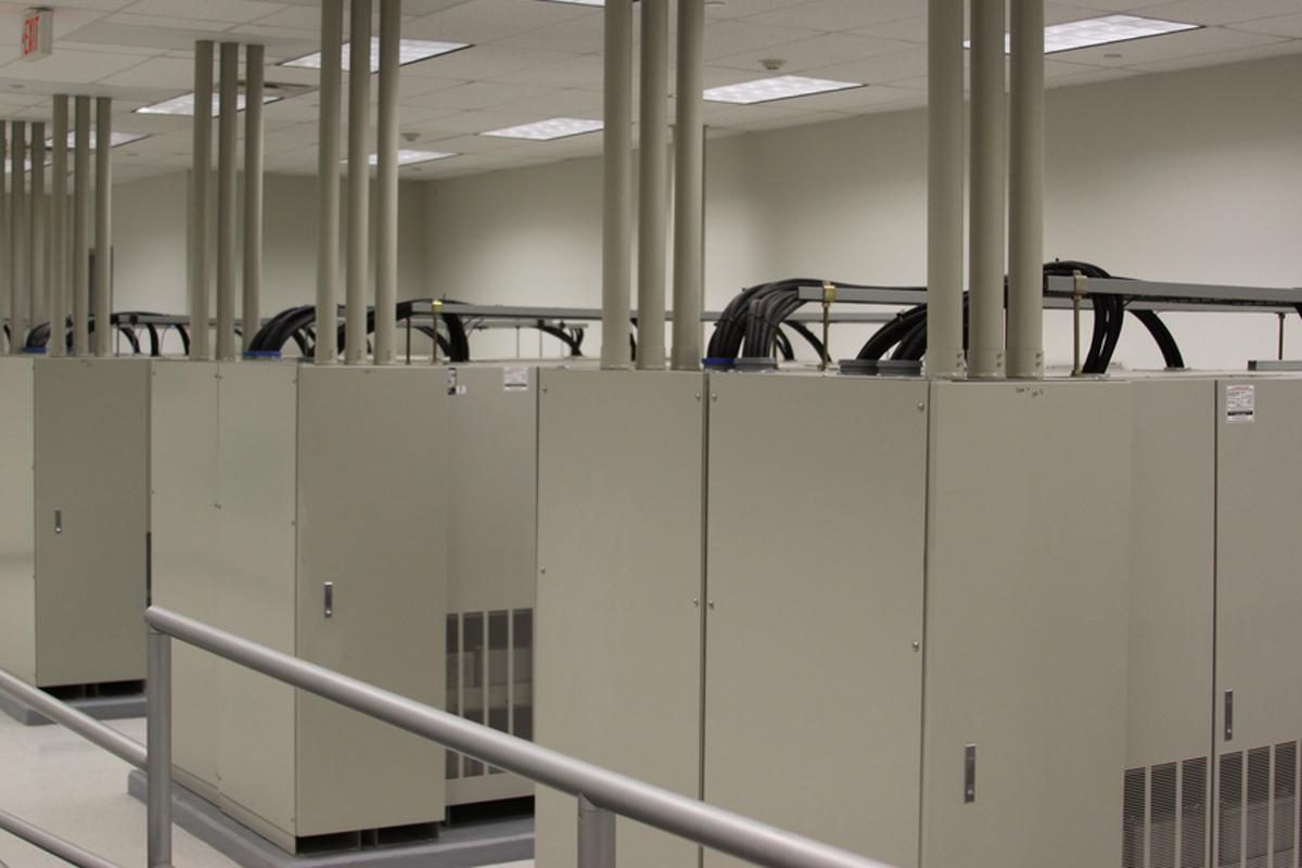 Data center servers could be used to heat homes and offices suggests a new Microsoft Research paper (Image: The Planet via Flickr)
