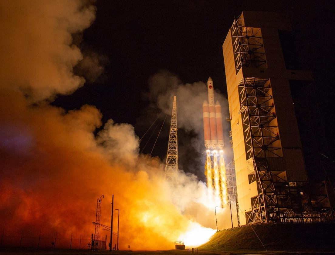 The Solar Parker Probe lifts off from Cape Canaveral