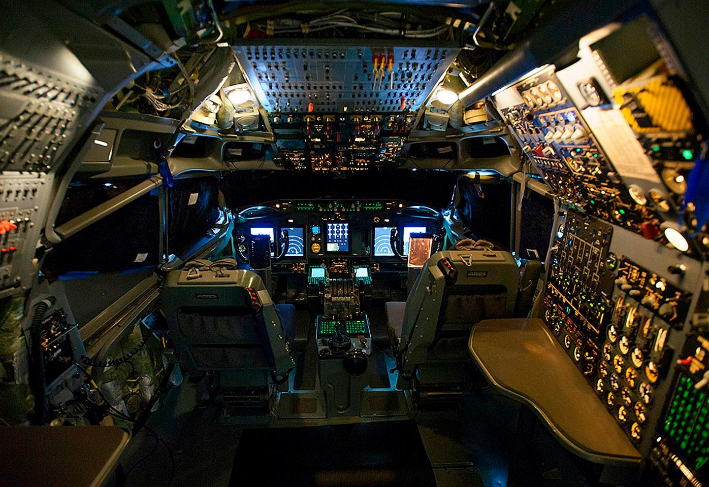 Boeing crews have updated the cockpit and avionics systems of NATO's AWACS aircraft, including five full-color displays that provide crew members with customizable engine, navigation and weather data