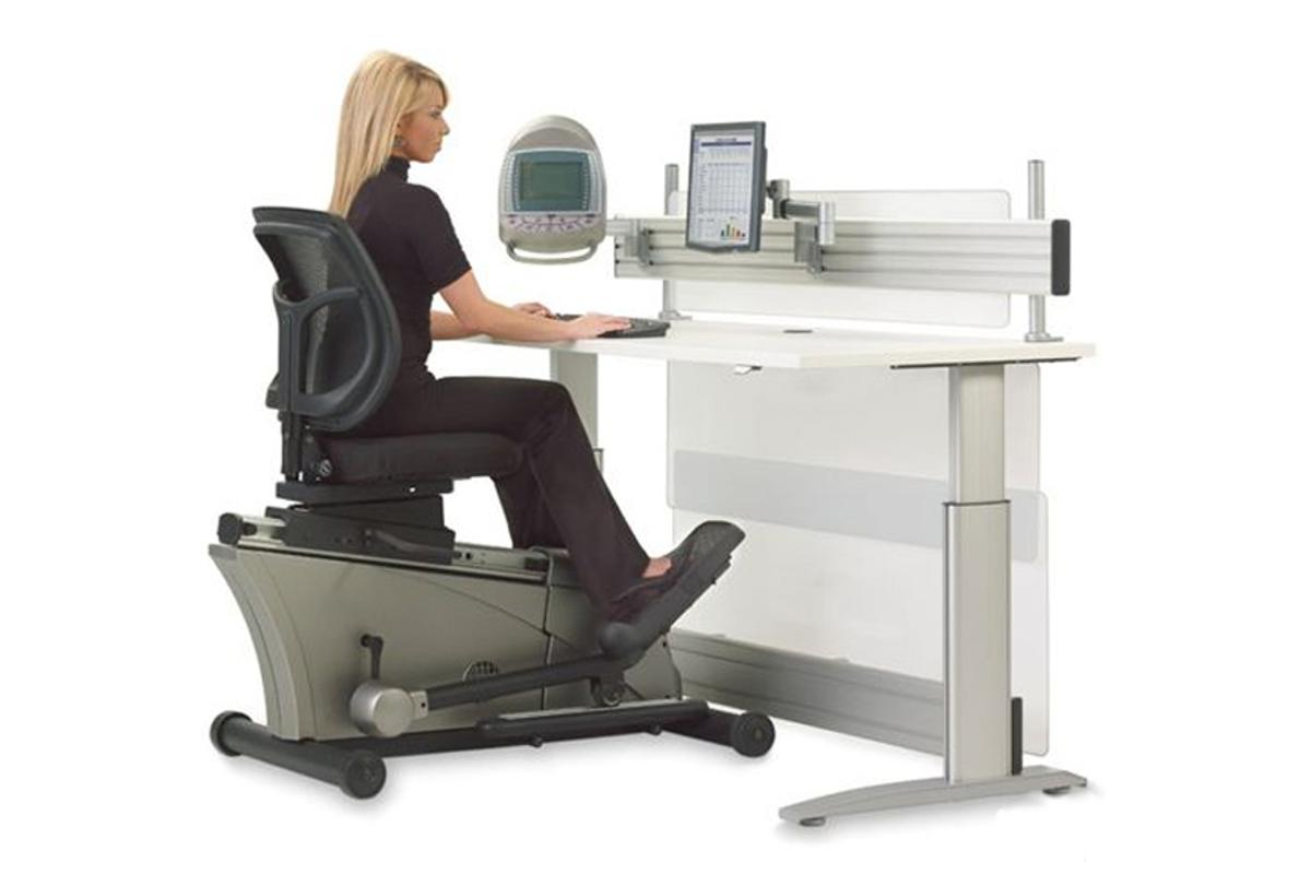 The Elliptical Machine Office Desk
