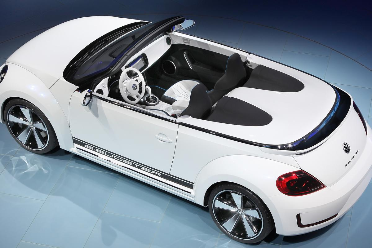 The E-Bugster cabriolet