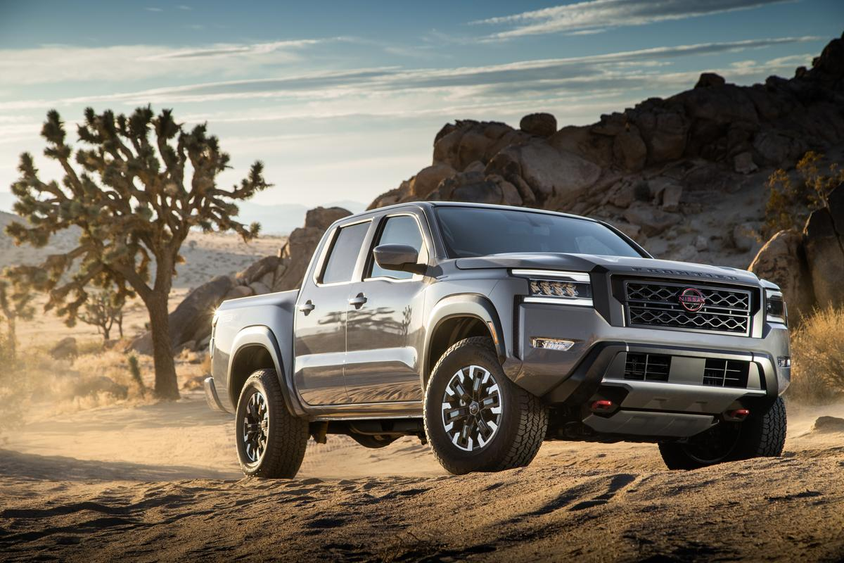Nissan finally pulls the wraps off all-new Frontier pickup ...