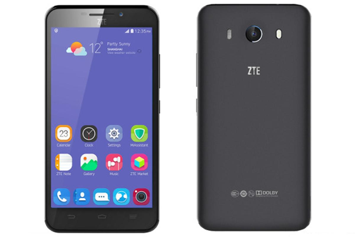 ZTE's Grand S3 smartphone uses an eye scan instead of a passcode