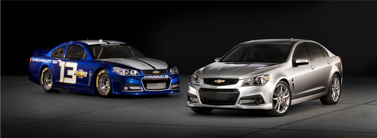 The Chevy SS Daytona 500 Pace Car and Chevy SS
