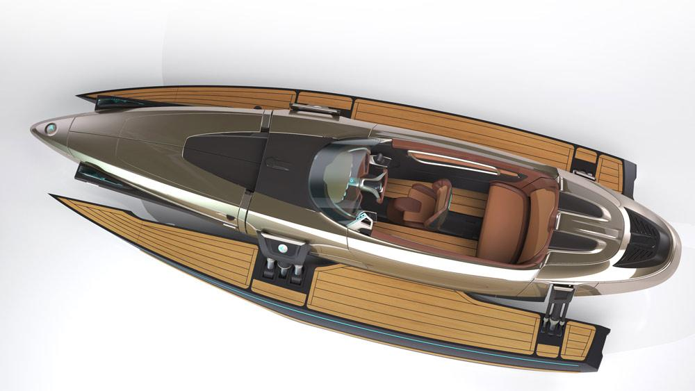 The Kormaran is a shape-shifting boat that provides the benefits of several different vessels