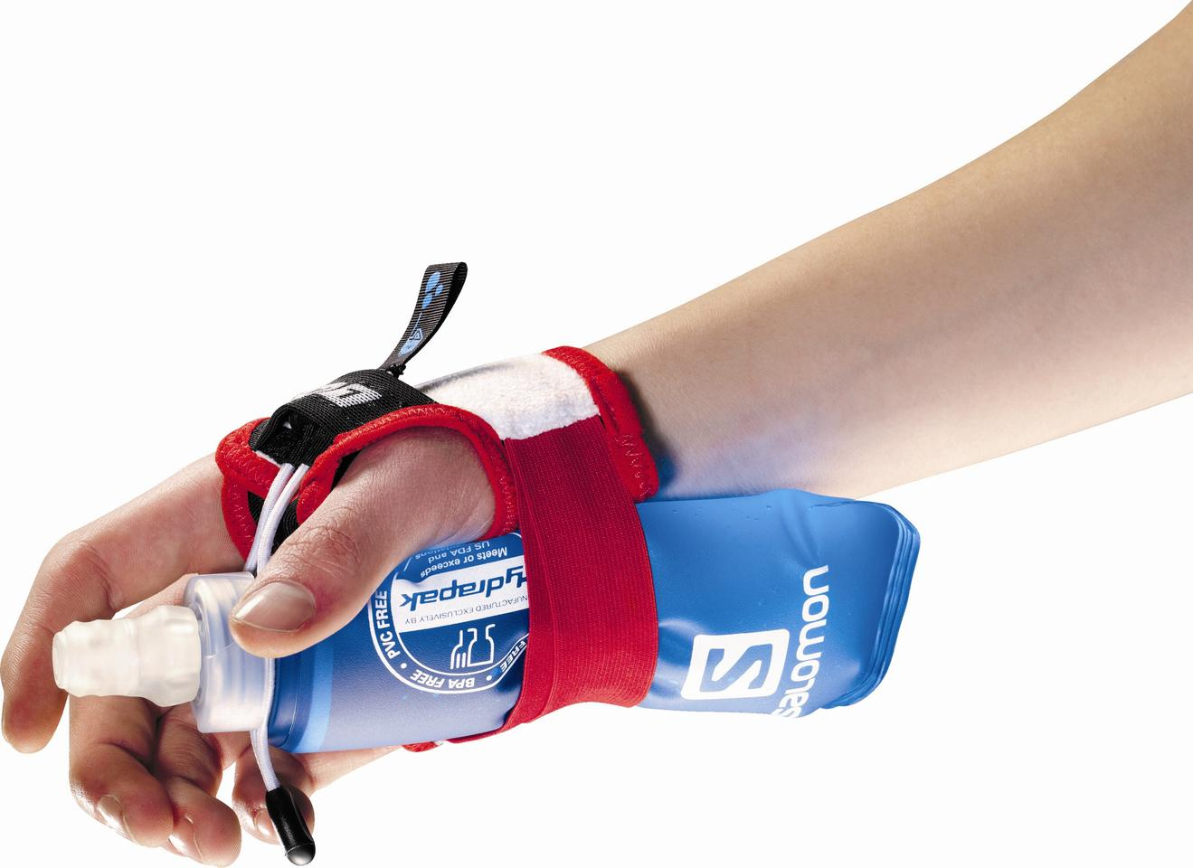 The Sense Hydro S Lab straps a 250-ml flask of water to your wrist