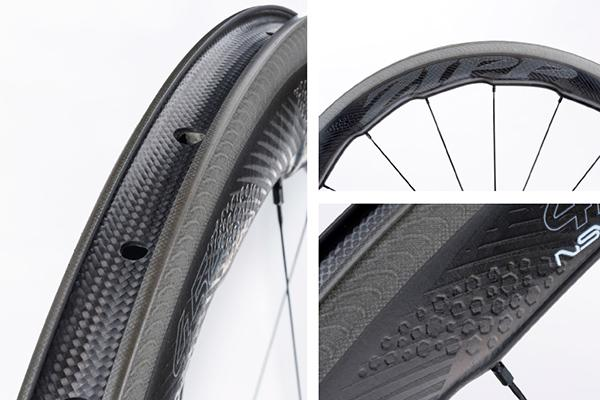 A look at the construction of the Zipp 454 NSW Carbon Clinchers