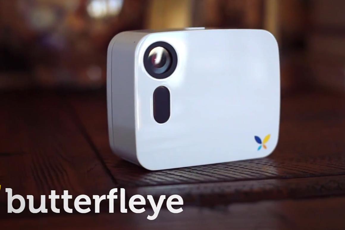 Butterfleye wireless home surveillance camera