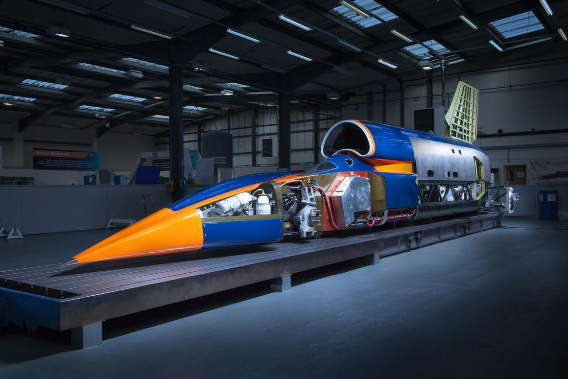 The Bloodhound Supersonic Car is a decade in the making