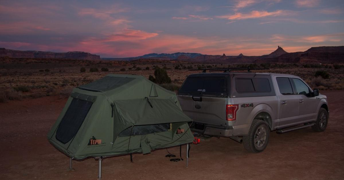 Hitch N Pitch Takes The Quot Roof Quot Out Of The Roof Top Tent