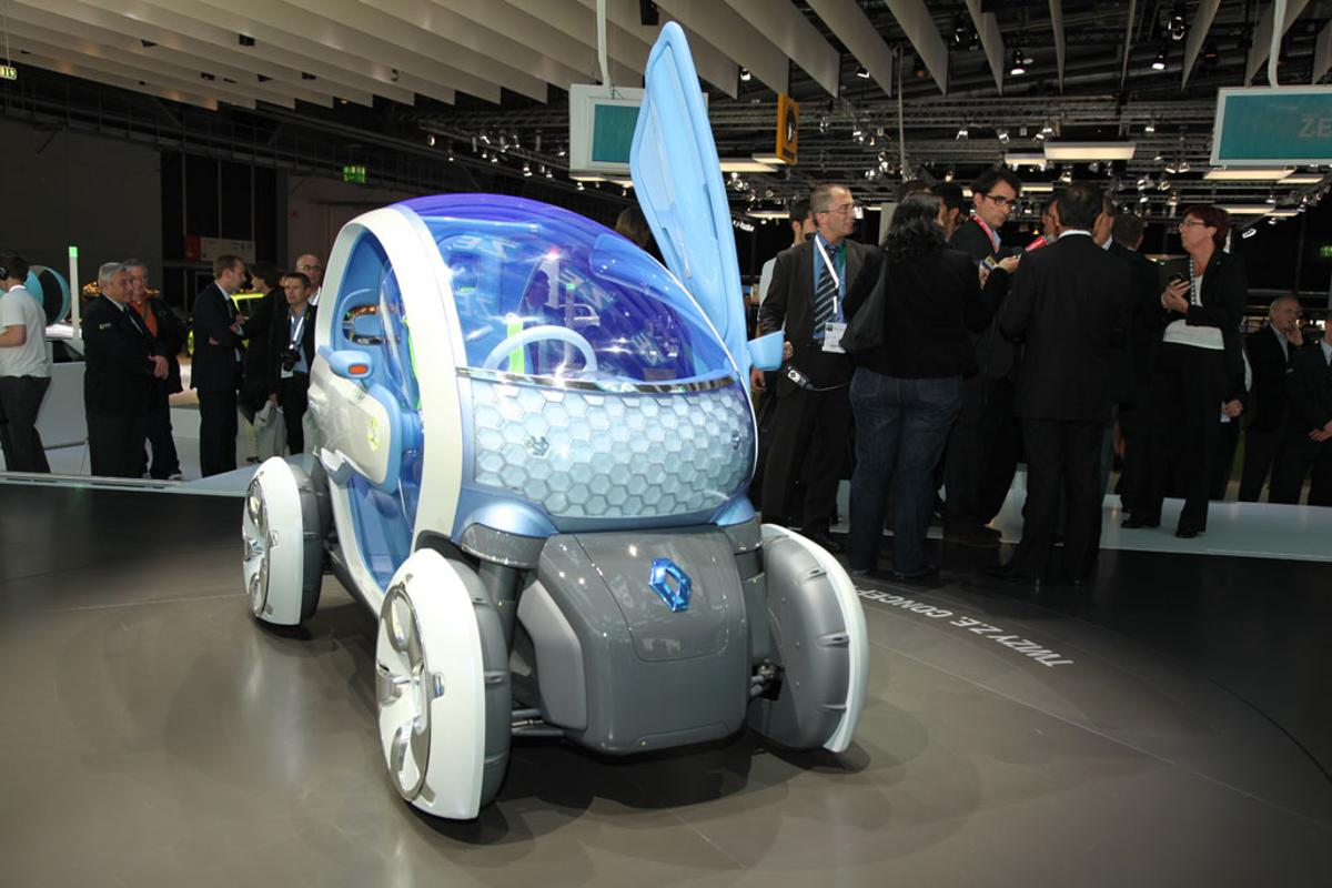 Renault Twizy two-seater EV